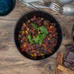 Vegansk chili sin carne | Biogan