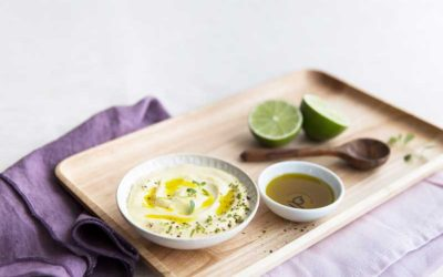 Avocado- og limemayonnaise