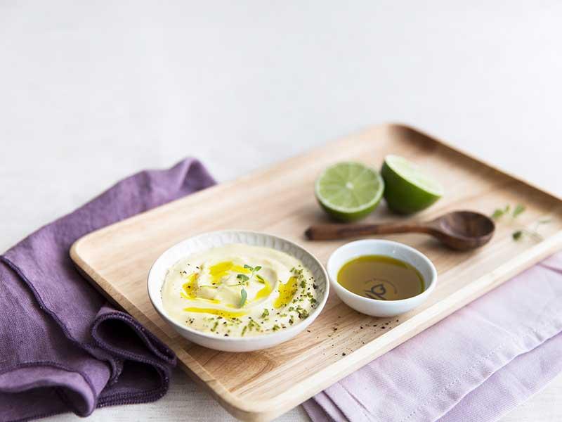Avocado- og limemayonnaise