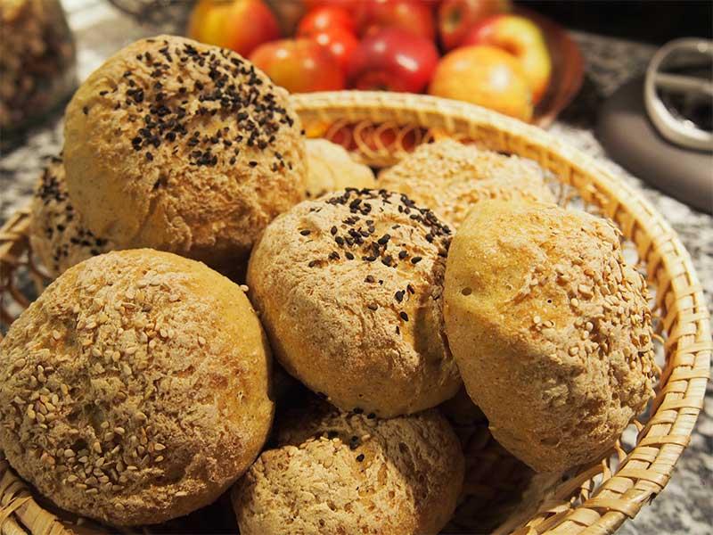 Opskrift på glutenfri boller | Biogan