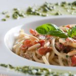 Spaghetti med tricolorsauce | Biogan