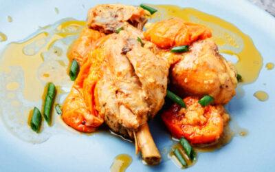 Kylling i gulerodssaft