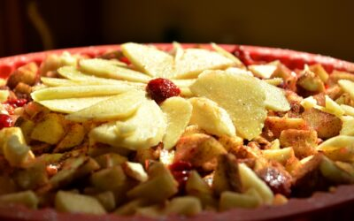 Glutenfri æblekage med mandel- og kokosmel