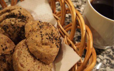 Glutenfri boller med sorghum – og teffmel