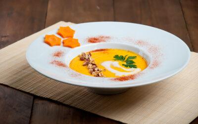 Cremet gulerodssuppe