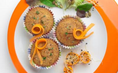 Salte muffins med boghvede