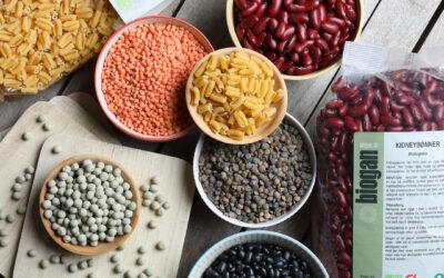 Vælg bælgfrugter når du vil spise sundt