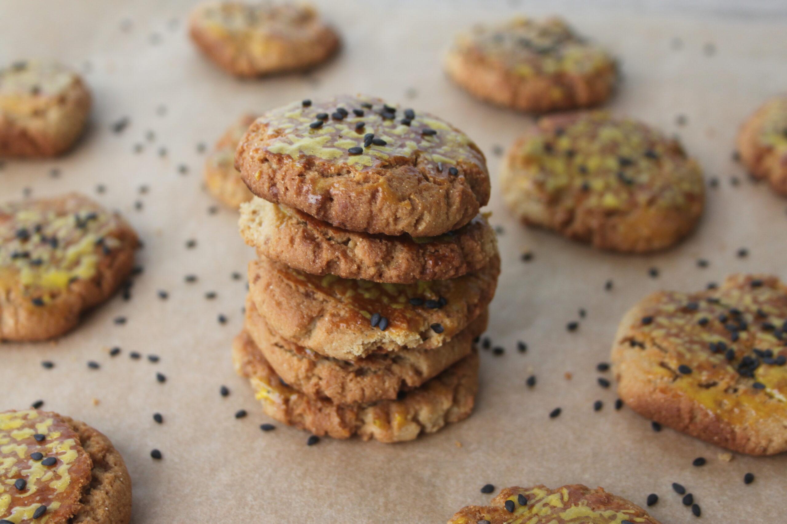Glutenfri sorghum-mandel småkager