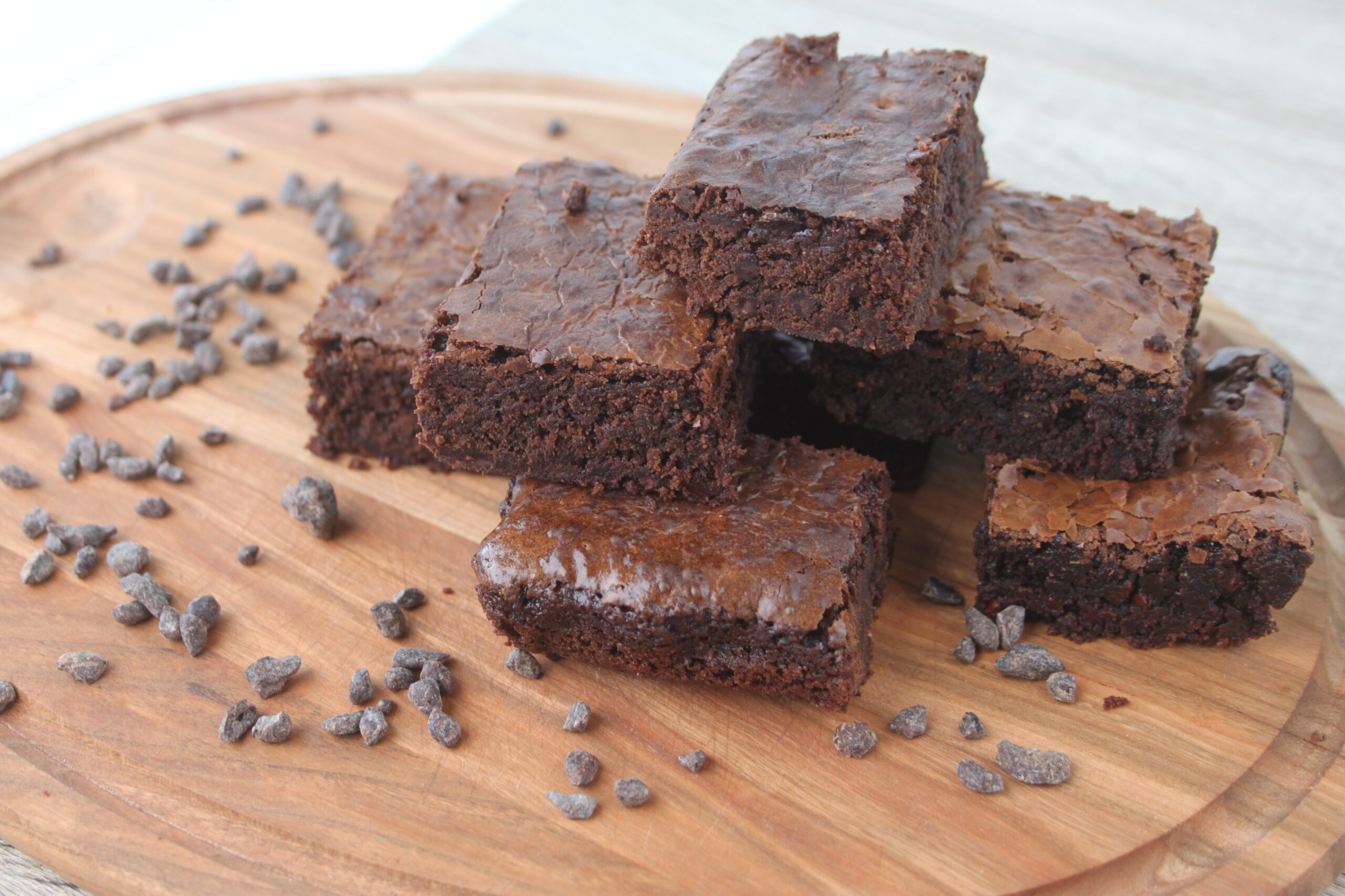 Brownie med cacaonibs